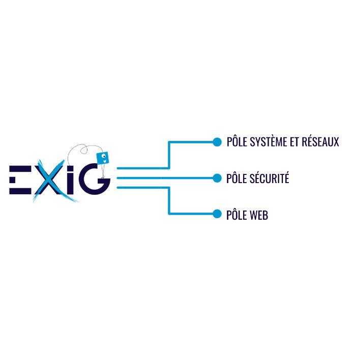 Les 3 pôles d'EXIG